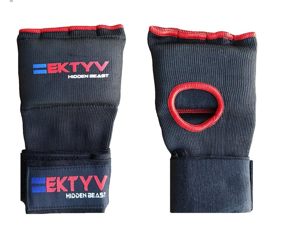 EKTYV MMA Inner Boxing Glove knuckle Padded