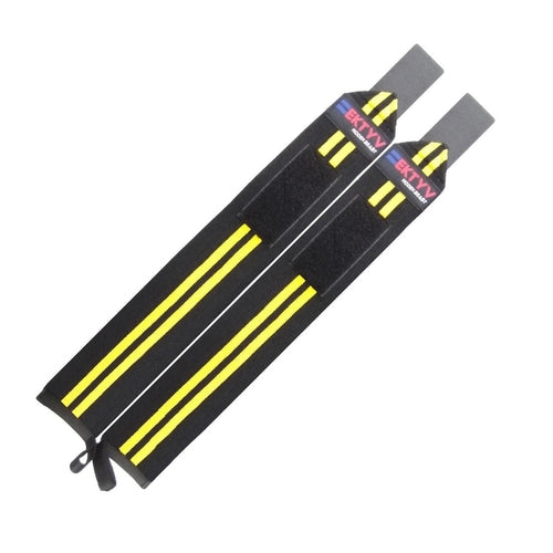 "Weight Lifting Wrist Wraps 24"" GYM Fitness"