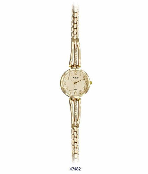 Milano Expressions Metal Bracelet Watch - ( 34MM )