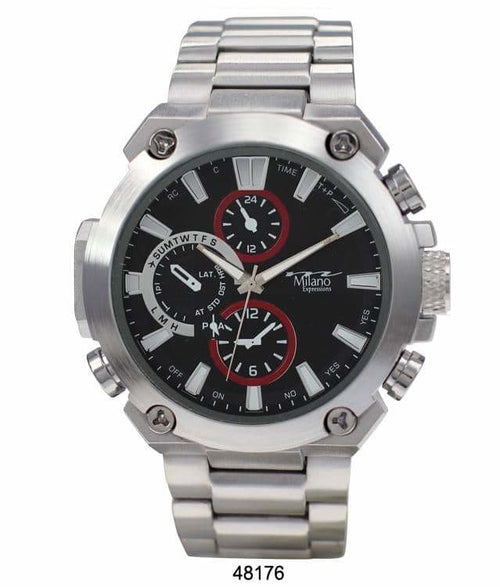 Milano Expressions Metal Band Watch - 4817 ( 49MM )