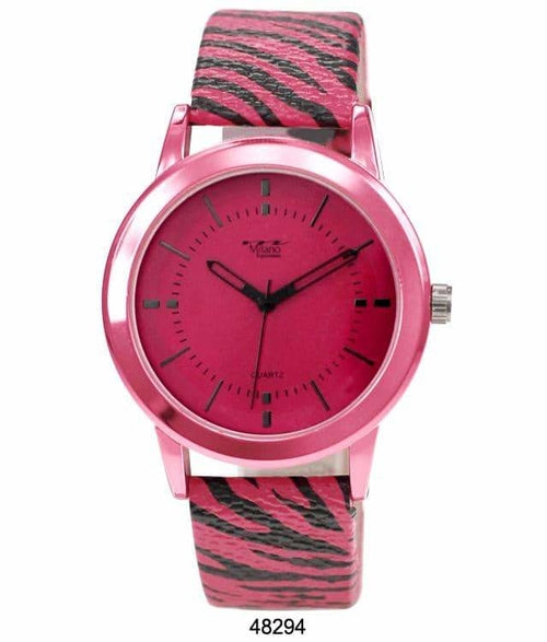 Expressions Animal Print Watch - 4829 ( 40MM Milano )