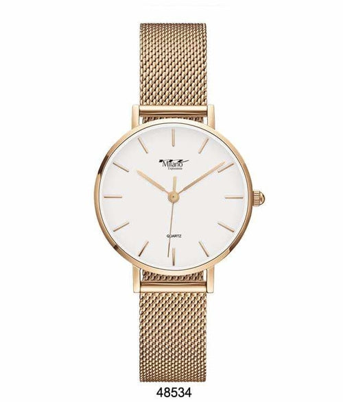 Expressions Mesh Band Watch - 4853 ( 41MM Milano )