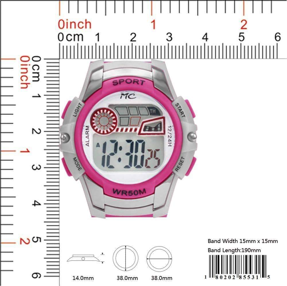 Montres Carlo 5ATM Digital Watch - 8553 ( 38MM )