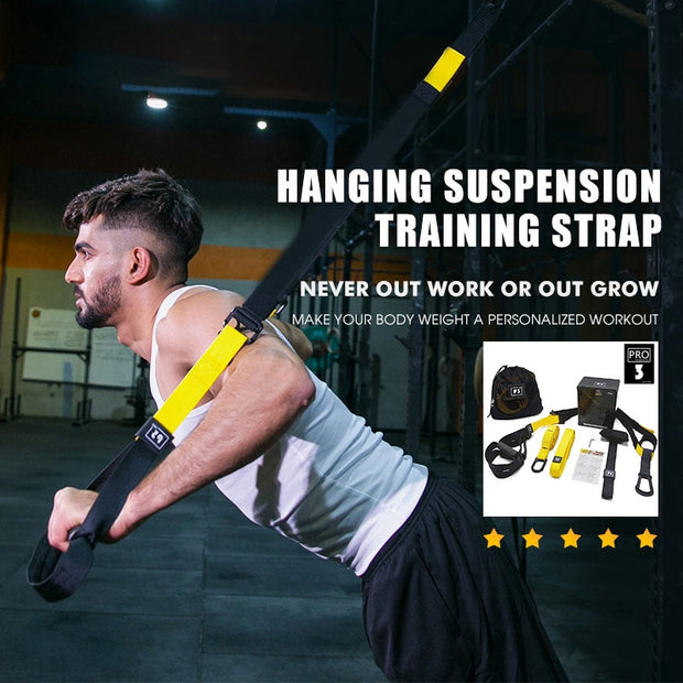 New Men Women Gym Home Resistance Bands Set Hanging Training Strap Yoga Pull Up Loop Rope Workout Crossfit Fitness Equipment
