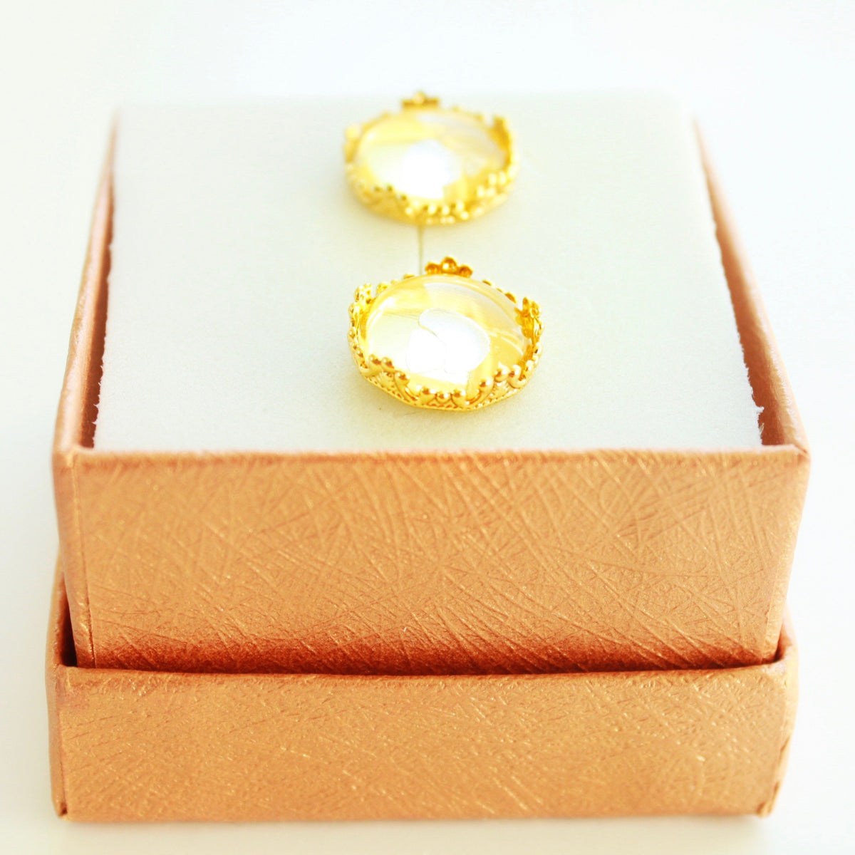 Ella Crown Earrings (Multiple Colors)