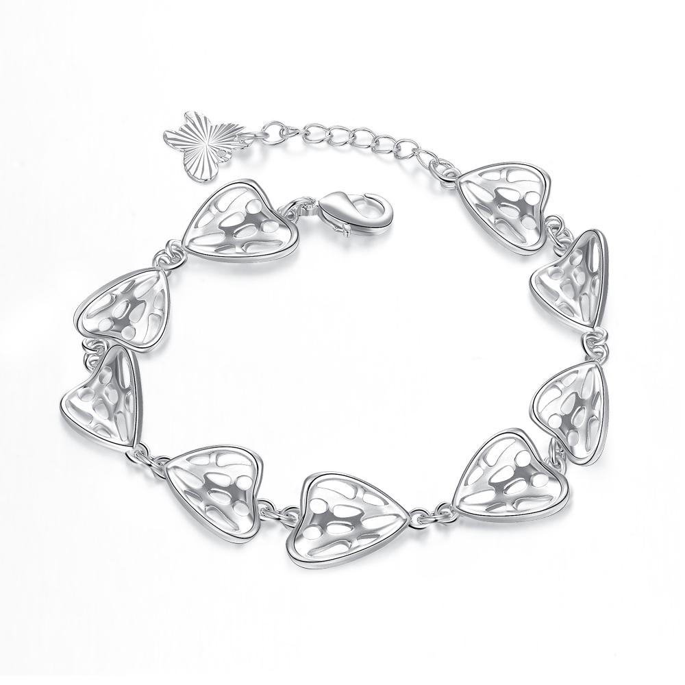 Lille 18K White Gold Plated Bracelet