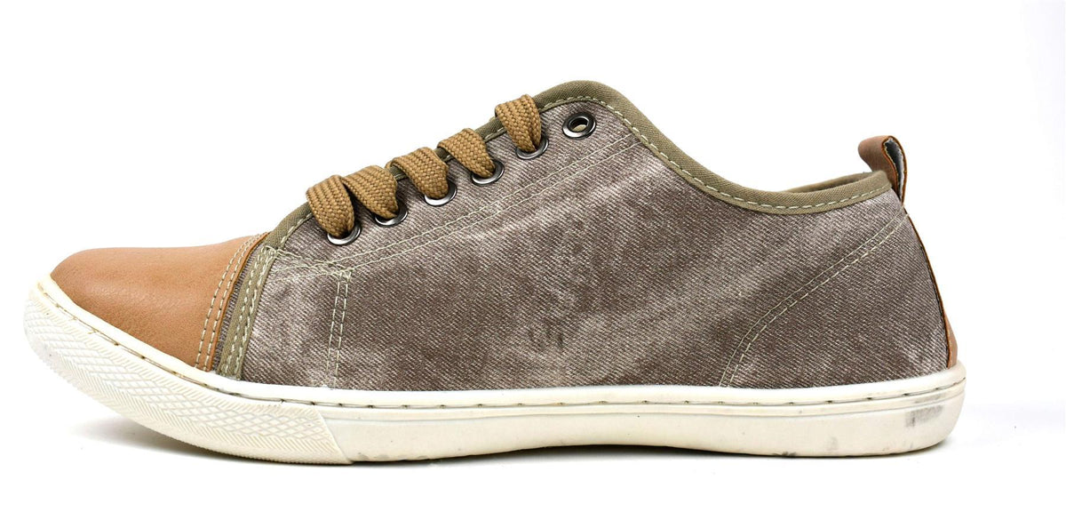 Men's Casual Canvas Trainers