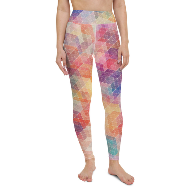 High Waist Geometry Leggings