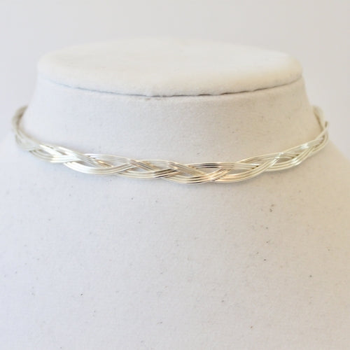Megan Braided Choker/Bracelet (Multiple Colors)