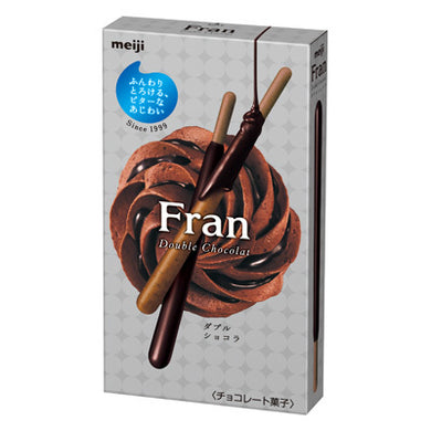 MEIJI FRAN DOUBLE CHOCOLATE 52G