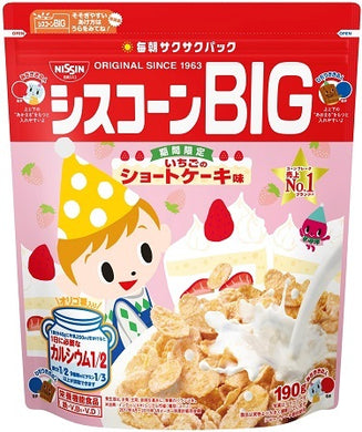 NISSIN CISCORN BIG STRAWBERRY 180G