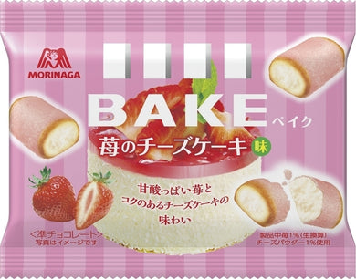 MORINAGA BAKE STRAWBERRY CHEESECAKE
