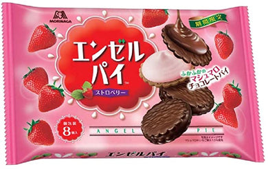 MORINAGA MINI ANGEL PIE STRAWBERRY