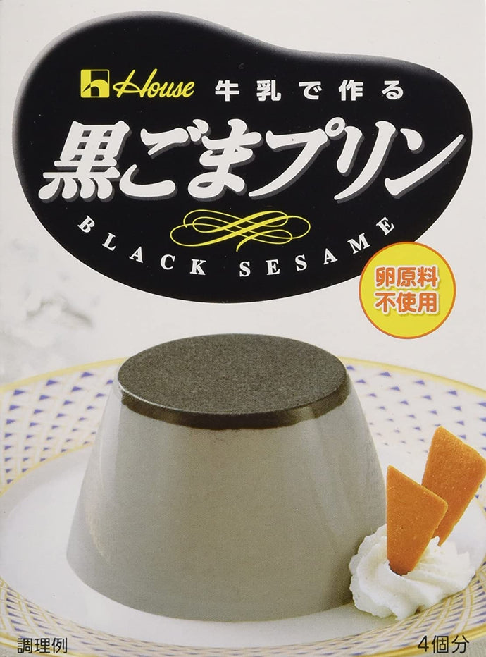 HOUSE PUDDING KUROGOMA 70G