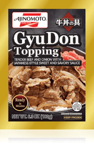 AJINO GYU DON TOPPING