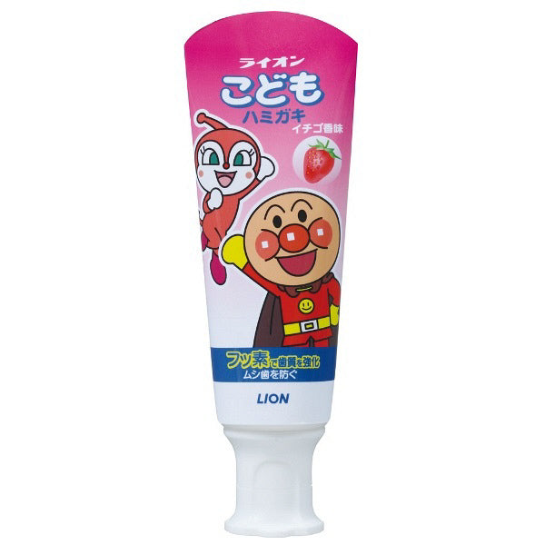 ANPANMAN TOOTH PASTE STRAWBERRY