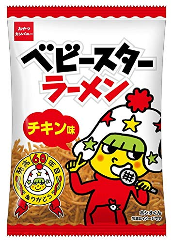 BABY STAR RAMEN SNACK CHICKEN