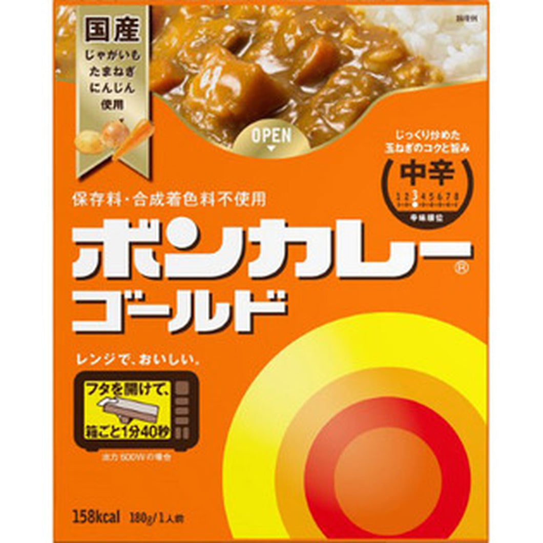BON CURRY GOLD MID HOT 180G