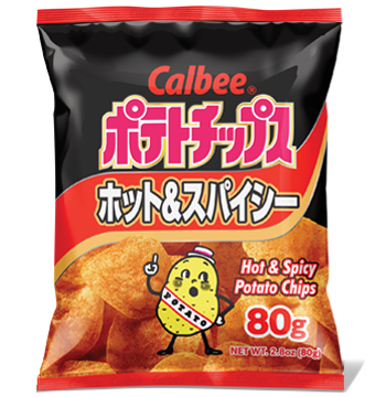 CALBEE POTATO CHIPS HOT&SPICY