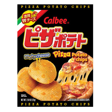 CALBEE POTATO CHIPS PIZZA