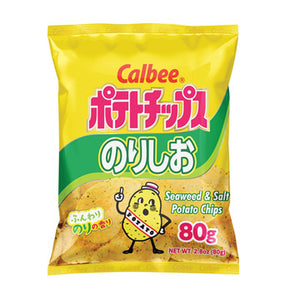 CALBEE POTATO CHIPS SEAWEED&SALT