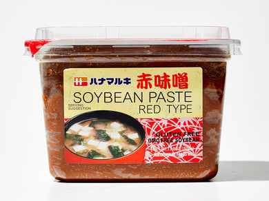 HANAMARUKI SOYBEAN PASTE RED CUP