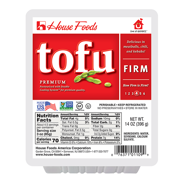 HSE TOFU FIRM RED