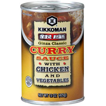 KKM GINZA CURRY SCE CHICKEN/VEG CAN