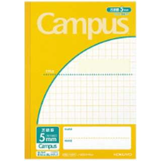 NOTE KOKUYO CAMPUS 5MM HOGAN 30SHEET YELLOW