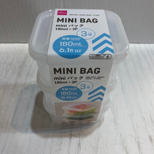 FOOD CONTAINER 3PCS 3.14X3.54X1.85IN