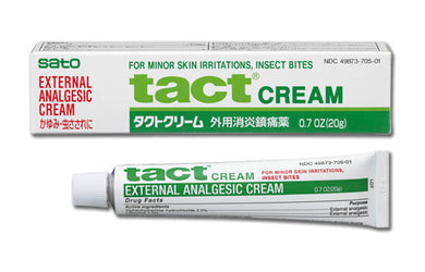SATO EXTERNAL ANALGESIC ANITIITCH TACT CREAM