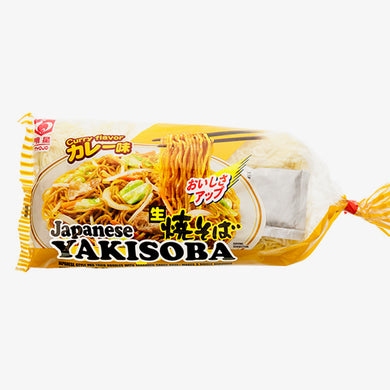 MYOJO NAMA YAKISOBA CURRY 3P
