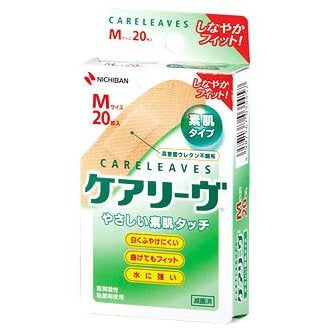 NICHIBAN CARELEAVES M SIZE 20 PCS