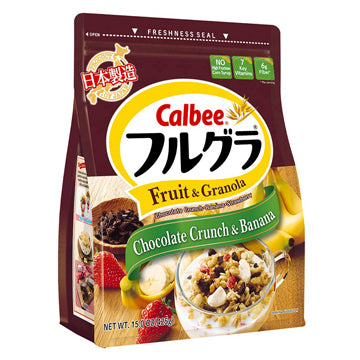 CALBEE FRUGRA CHOCOLATE BANANA