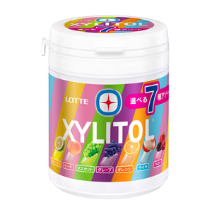 XYLITOL 7 KINDS ASSORT BOTTLE GUM
