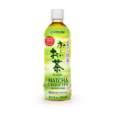 ITOEN OOI OCHA MATCHA GREEN TEA 16.9OZ