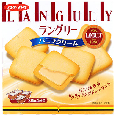 ITO LANGULY VANILLA CREAM 12PC