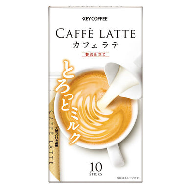 KEE COFFEE CAFE LATTE 10 STICK 62GR