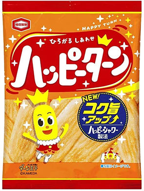 KAMEDA RICE CRACKER HAPPY TURN