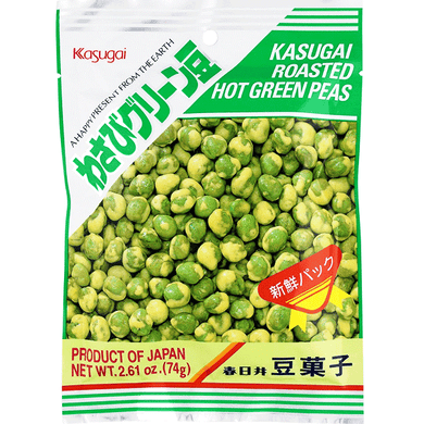 KASUGAI ROASTED HOT GRN PEAS