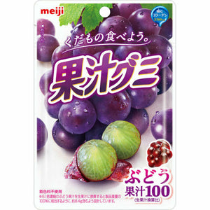 MEIJI  KAJYU GUMMY GRAPE