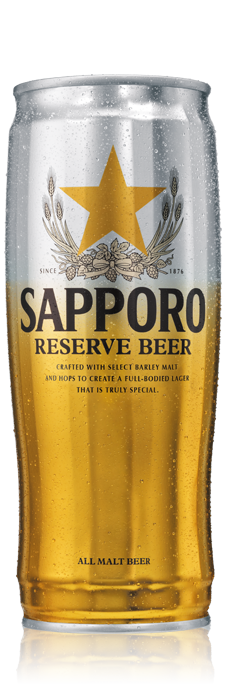 SAPPORO BEER RESERVE CAN
