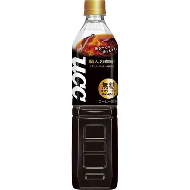 UCC ICED COFFEE NON SUGAR 930ML