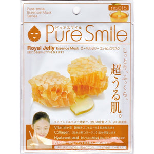 PURE SMILE FACE MASK ROYAL JELLY
