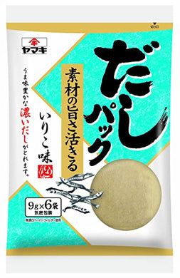 YAMAKI DASHI PACK IRIKO 6PC