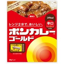BON CURRY GOLD HOT 180G