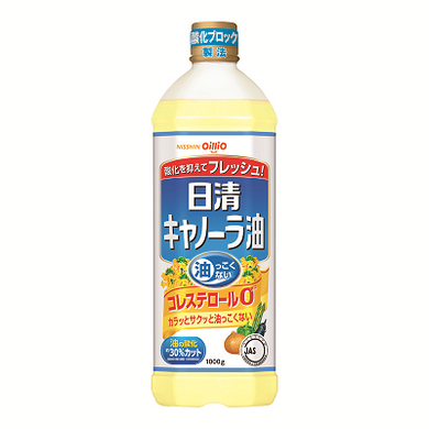 NISSIN OIL CANOLA OIL 1000G PET