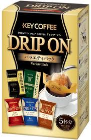 KEY COFFEE DRIP ON VARIETY PACK 5P 40GR