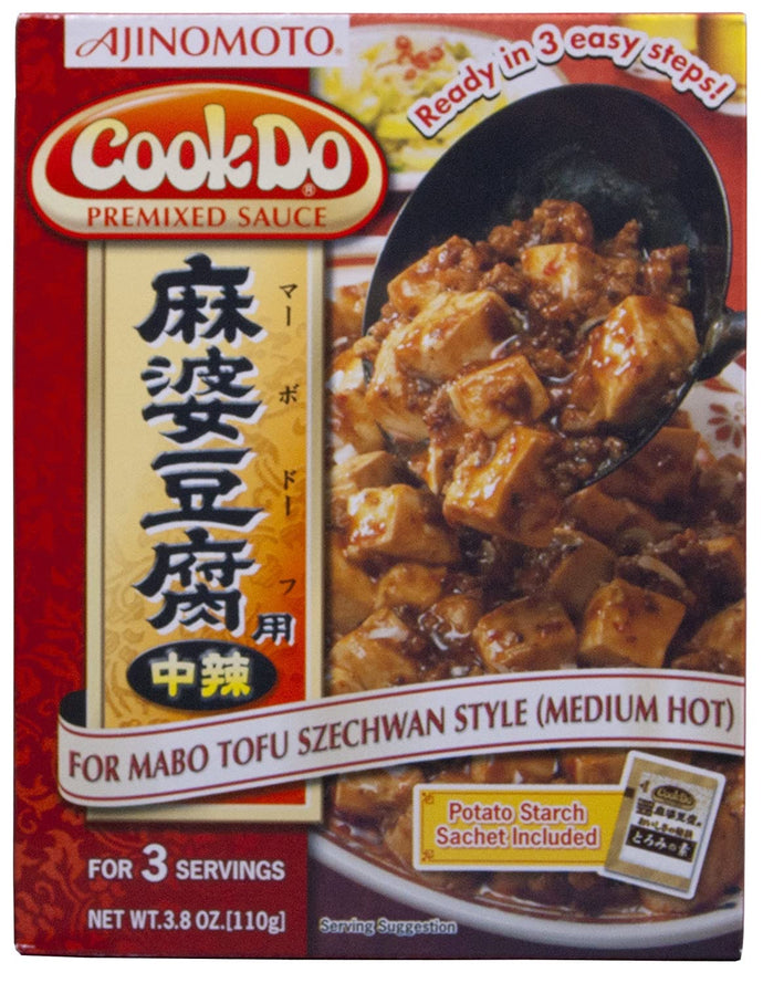 COOKDO MABO TOFU MID HOT RED