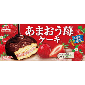 MORINAGA AMAOU STRAWBERRY CAKE